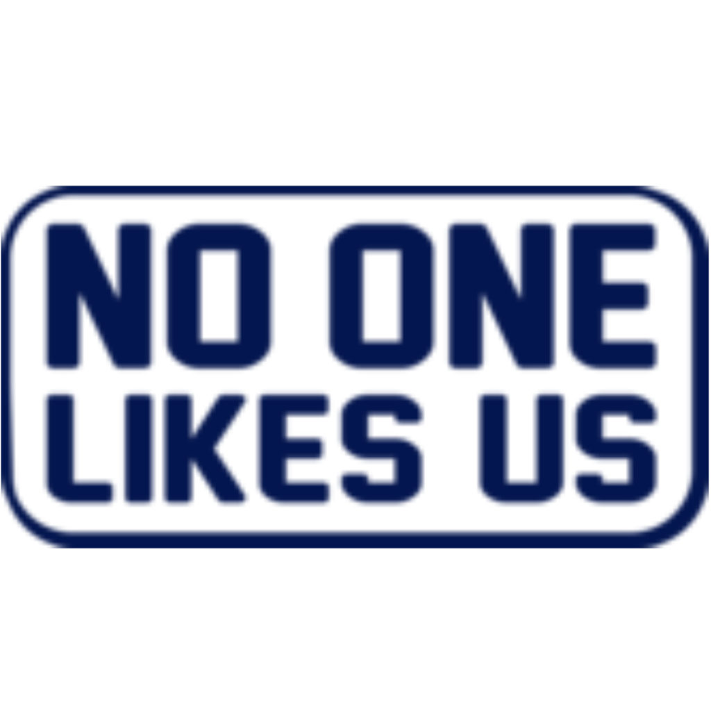 No One Likes Us Logo